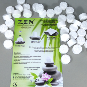 Lingettes ZEN, rince-doigts Coin Tissu